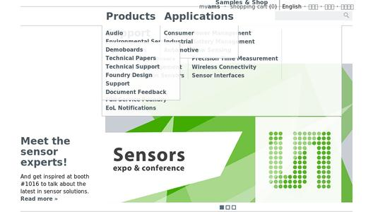"Weitere Infos zu ""ams acquires CCMOSS to become world leader in gas and infrared sensing"""