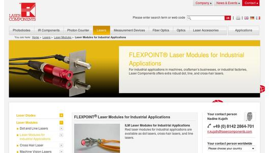 "Weitere Infos zu ""FLEXPOINT® HD Laser Modules for Harsh Industrial Environments"""