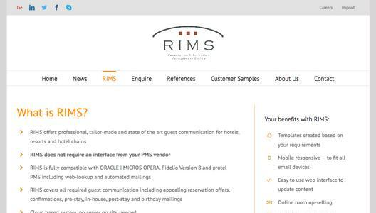 RIMS Website