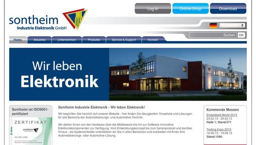 Sontheim Industrie Elektronik GmbH - We live electronics!
