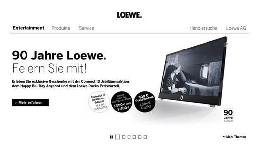 loewe und hisense vereinbaren strategische partnerschaft loewe technologies gmbh. Black Bedroom Furniture Sets. Home Design Ideas