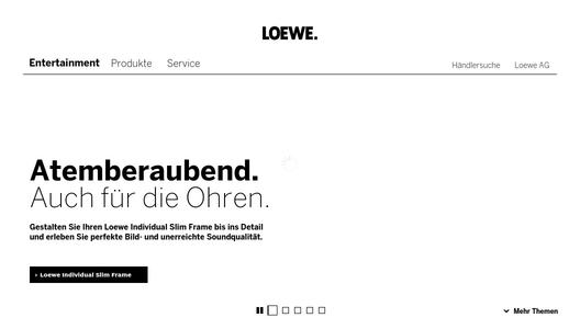 if gold award 2013 loewe technologies gmbh pressemitteilung. Black Bedroom Furniture Sets. Home Design Ideas