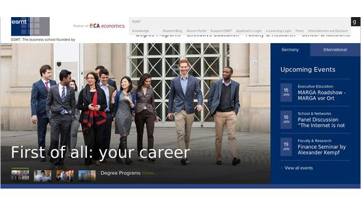 "Weitere Infos zu ""ESMT welcomes new full-time MBA class"""
