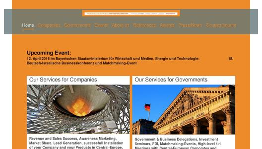 "Weitere Infos zu ""18th GERMAN-ISRAELI Business-Conference and Matchmaking-Event at the 12th of April 2016 at the Bavarian State Ministry in Munich"""