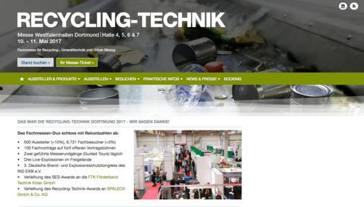 Recycling-Technik live