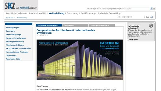 "Weitere Infos zu ""Composites in Architecture 6. internationales Symposium"""