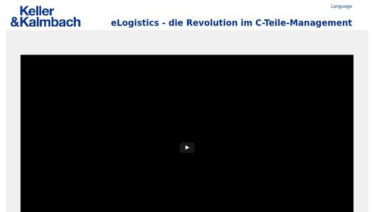 eLogistics - die Revolution im C-Teile-Management