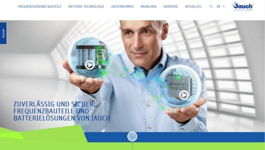 Website Jauch Quartz GmbH