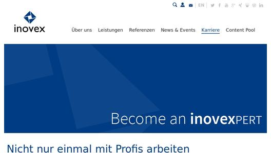 Inovex startet video kampagne become an inovexpert for Promotion agentur karlsruhe