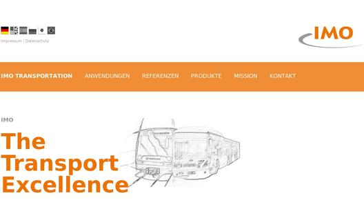 "Weitere Infos zu ""IMO focuses with new website on transportation applications"""
