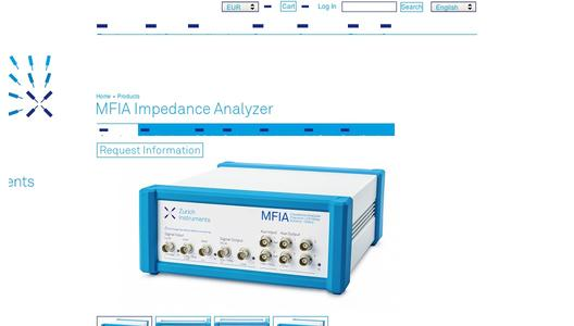 MFIA product page