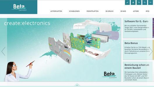 Neue Website für Elektronik-Entwickler - Beta LAYOUT GmbH ...