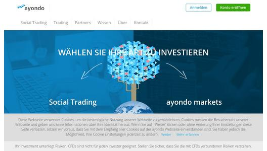 "Weitere Infos zu ""ayondo launches Bitcoin trading"""
