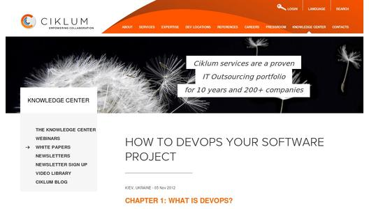 How to DevOps Your Software Project