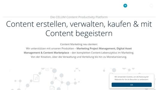 "Weitere Infos zu ""Analyst firms' report: CELUM DAM included among the providers in digital asset management solutions in the enterprise and marketing segments"""