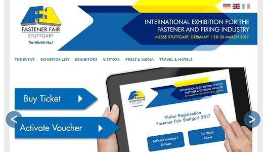 More information on Fastener Fair Stuttgart