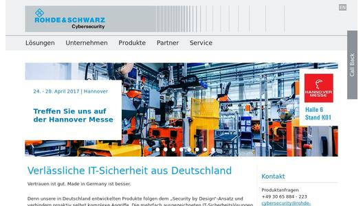"Weitere Infos zu ""IIoT: New Industrial Security Solution for Secure Modbus Protocol Communication available from Rohde & Schwarz Cybersecurity"""