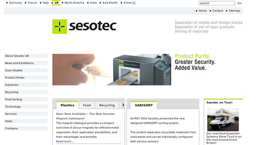 "Weitere Infos zu """"180 Degrees"" Selects Sesotec Metal Detectors"""