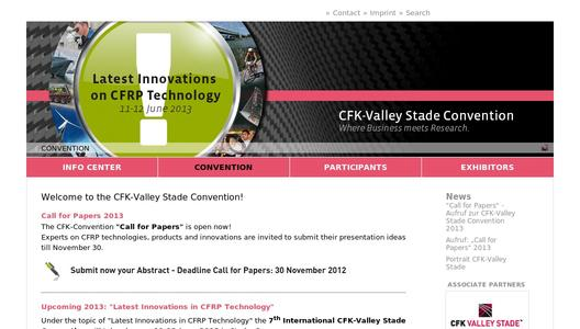 "Weitere Infos zu ""6th International CFK-Valley Stade Convention"""
