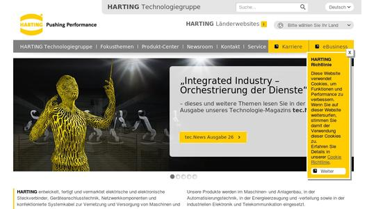 "Weitere Infos zu ""HARTING with future-oriented solutions for ""integrated industry"""""