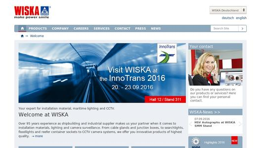 "Weitere Infos zu ""WISKA presents a new product line for cable protection at InnoTrans in Berlin"""