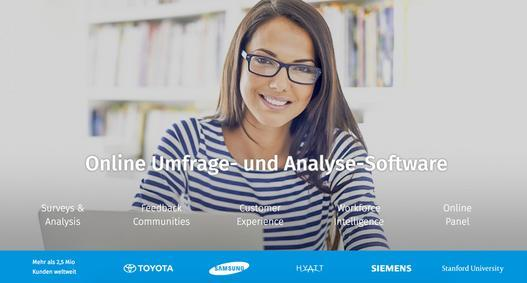 Online Umfragen, Analysen, Enterprise Feedback Management