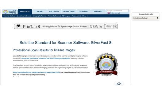 Website SilverFast