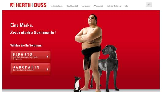 Herth+Buss Homepage
