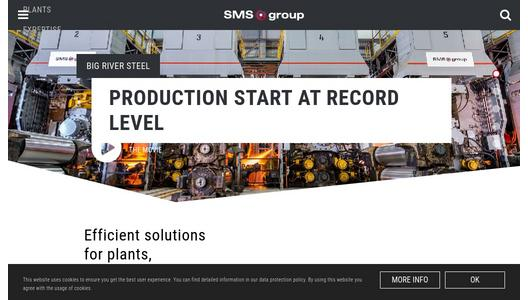 "Weitere Infos zu ""International Steels Limited (ISL) orders second Compact Cold Mill from SMS group"""