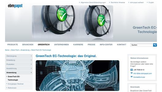 GreenTech EC-Technologie