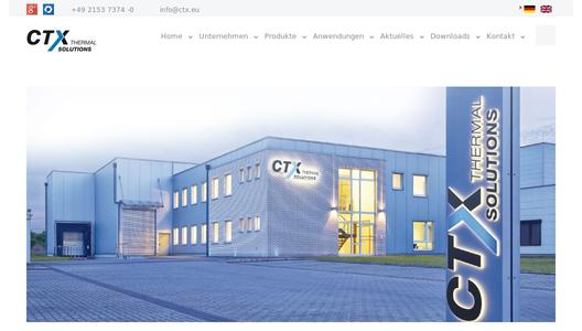 Firmenwebseite CTX Thermal Solutions