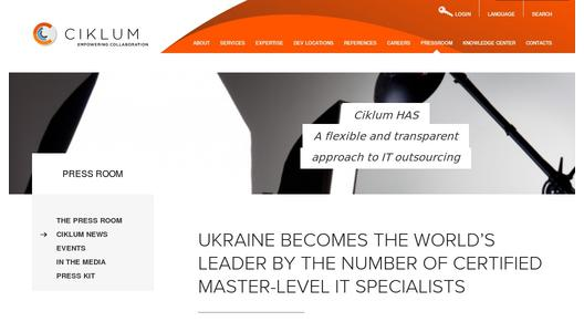 Ukraine Becomes the World's Leader by the Number of Certified Master-Level IT Specialists