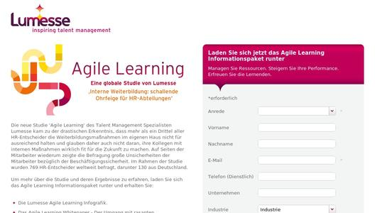 Hier gehts zur Lumesse Agile Learning Studie