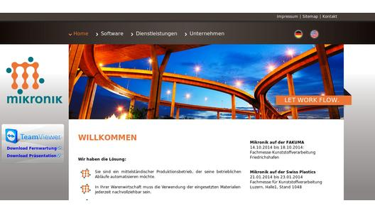 "Weitere Infos zu ""Mikronik llc established on the U.S. market"""