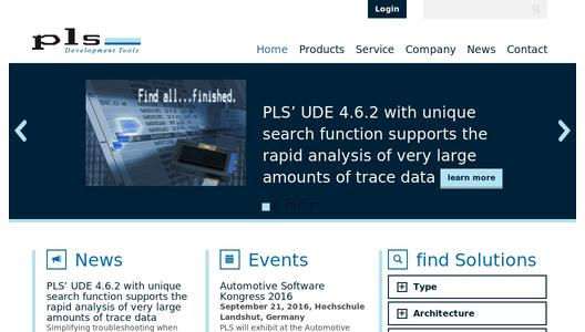 "Weitere Infos zu ""PLS UDE 4.6 Supports STMicroelectronics' SPC570S Family of Automotive MCUs Based on the 32-Bit Power Architecture®"""