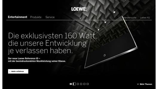 90 jahre audiokompetenz von loewe loewe technologies gmbh pressemitteilung. Black Bedroom Furniture Sets. Home Design Ideas