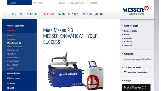 MetalMaster 2.0 - Messer know-how - your success