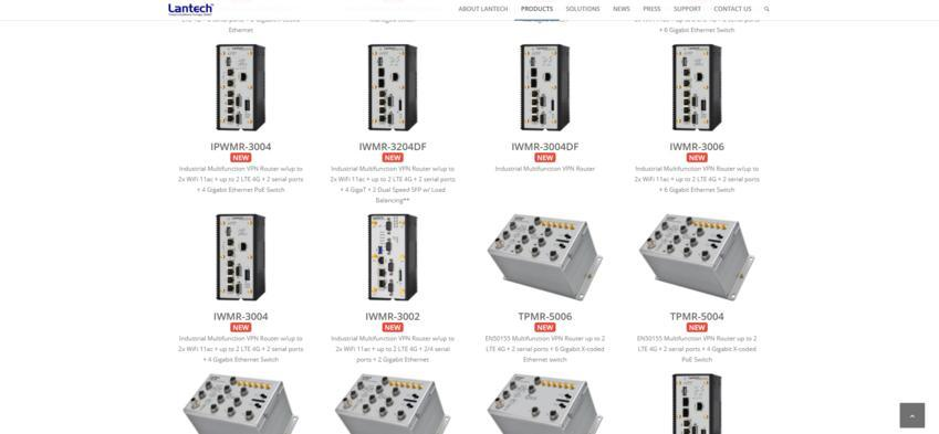 Lantech Communications Europe - Multifunctional Switches