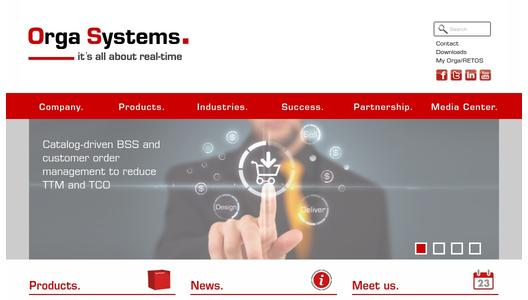 "Weitere Infos zu ""Orga Systems launches new product for catalog-driven revenue management at Mobile World Congress 2014"""