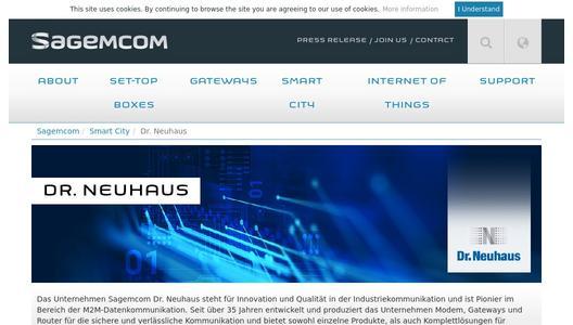 Premiere at the E-world: Sagemcom Dr  Neuhaus introduces its new