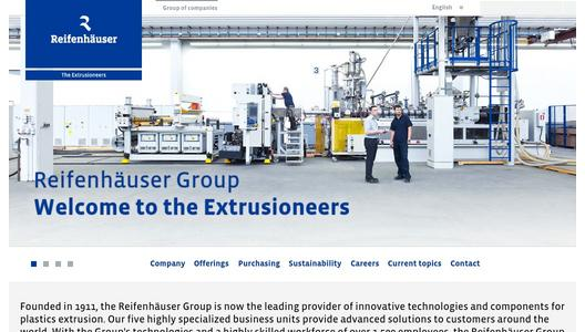 "Weitere Infos zu ""Reifenhäuser Open House: technology know-how for  production with biopolymers"""