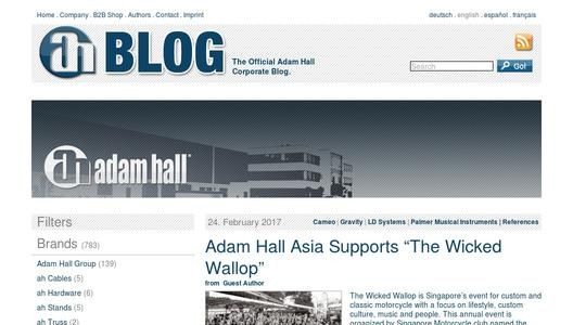 "Weitere Infos zu ""Adam Hall Group Supports Talented Musicians with Video Clips"""