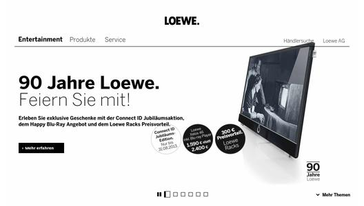 loewe connect id jubil ums edition loewe technologies gmbh pressemitteilung. Black Bedroom Furniture Sets. Home Design Ideas