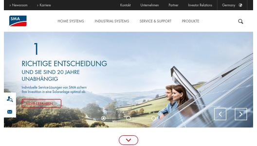 "Weitere Infos zu ""SMA Informs About Its Economic Situation at Suppliers Day"""