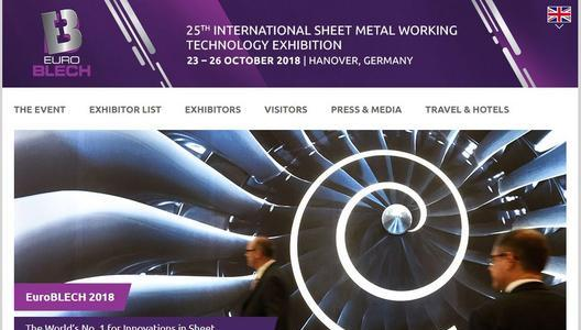 Stand Reservation For Euroblech 2018 Has Begun Mack Brooks Exhibitions Press Release Pressebox