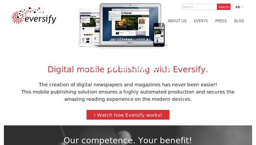 Agfa Graphics' Eversify automates mobile publishing