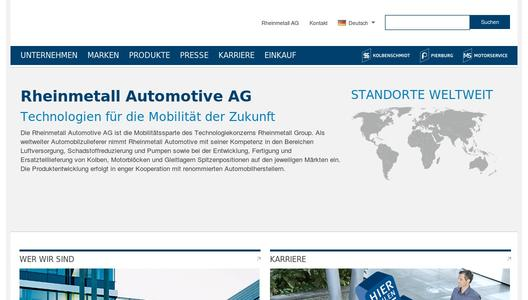 "Weitere Infos zu ""Rheinmetall Automotive exhibiting components for emission reduction and electric vehicles"""