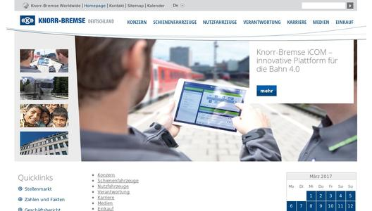 "Weitere Infos zu ""Knorr-Bremse sets the stage for growth"""