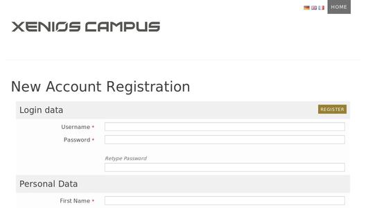 "Weitere Infos zu ""XENIOS CAMPUS - now also available in French"""