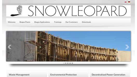 Website Snow Leopard Projects GmbH